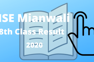 BISE Mianwali Board 8th class result 2020