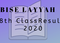 Layyah Board 8th Class Result 2020